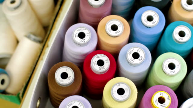Manufacture industrial textile spinning video