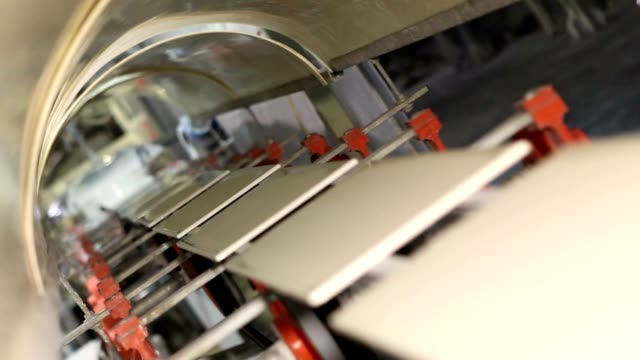 Manufacture of ceramic tiles video