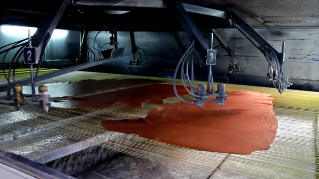stockvideo's en b-roll-footage met manufacture of leather goods - dierenhuid huid
