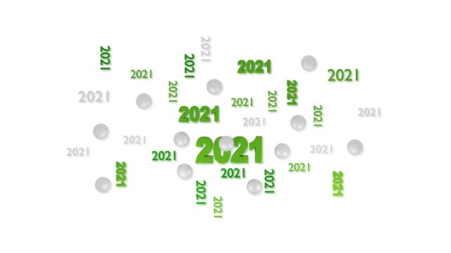 Many Golf ball 2021 designs with reflections in Loopable Move on White