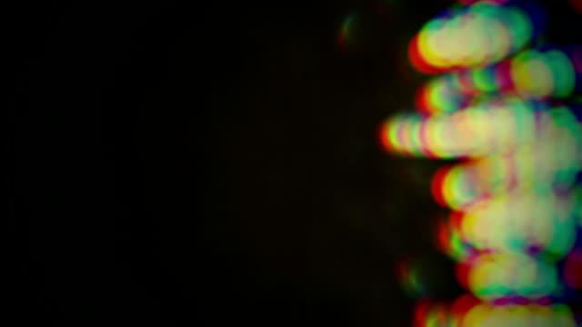 vidéos et rushes de de légères variations effet de transition - instrument optique