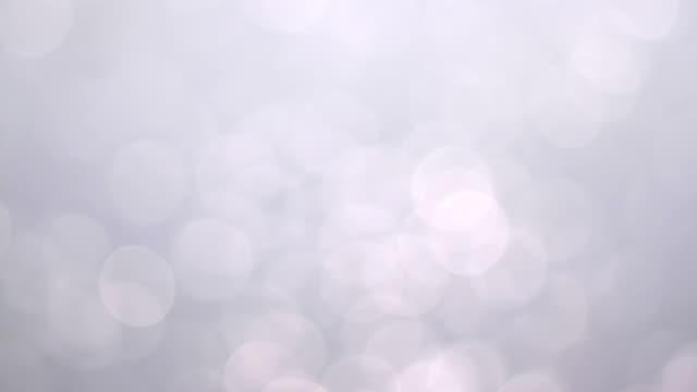 Many White Bokeh video