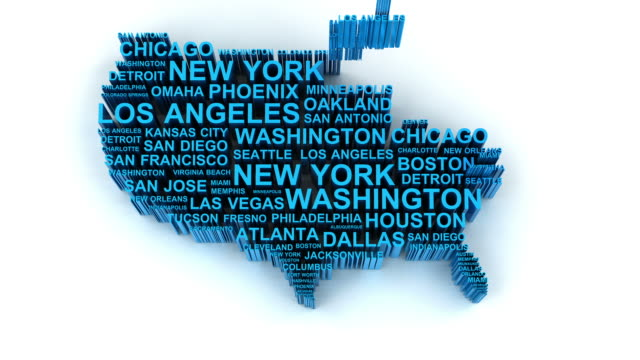 usa map animation - usa map stock videos and b-roll footage