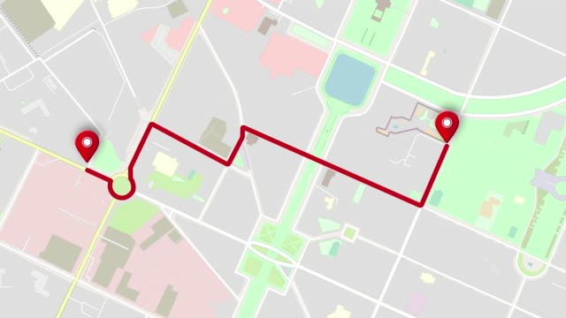Map city GPS locations.