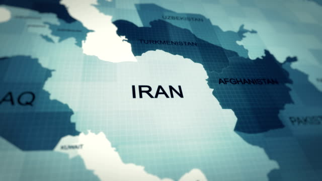 4K Map of Iran