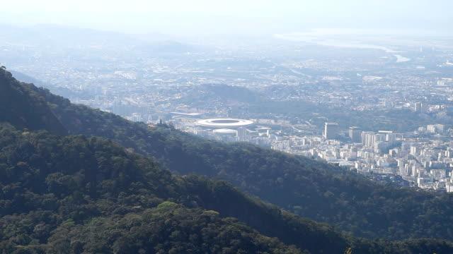 Estádio de futebol do Maracanã, no Rio de Janeiro, Brasil - vídeo