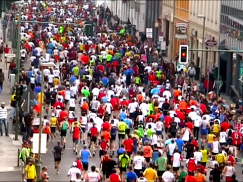 Marathon city runners video