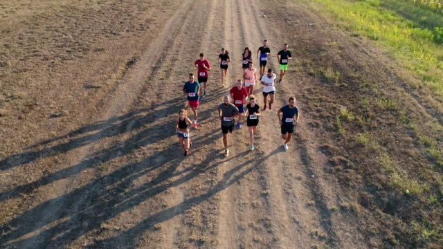 Marathon Race video