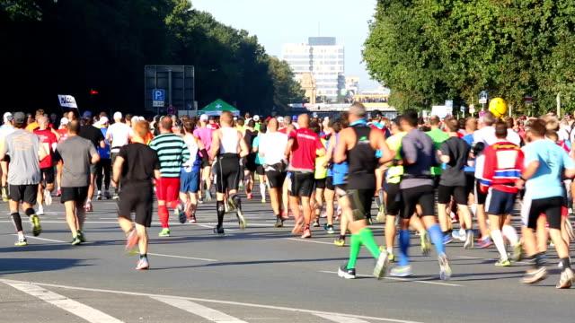 Marathon running + Audio video