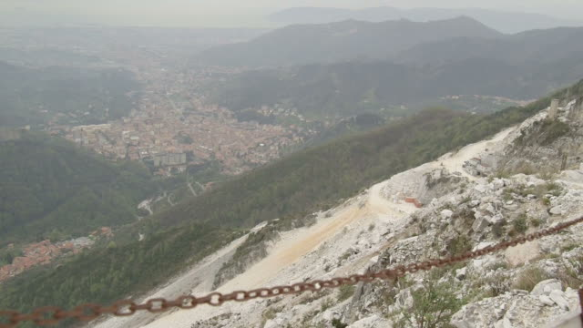 Marble Quarry in Carrara, Italy video
