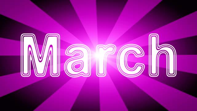 marschieren - kalender icon stock-videos und b-roll-filmmaterial