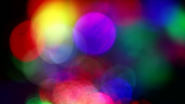 mardi gras, colorful lighting in motion. - sfondo multicolore video stock e b–roll