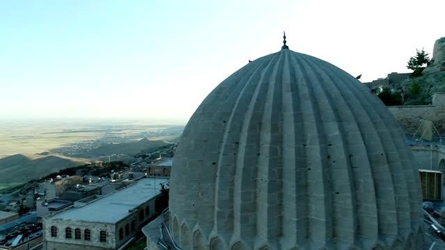 Mardin Minaret Aerial View 2 Mardin Minaret Aerial View 2 mardin stock videos & royalty-free footage