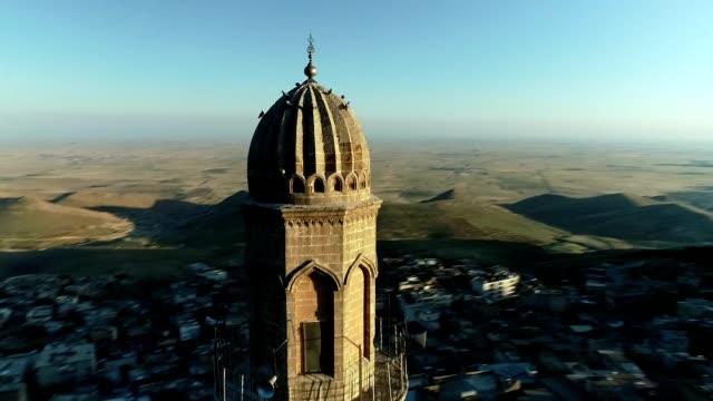 Mardin Minaret Top View Mardin Minaret Top View mardin stock videos & royalty-free footage