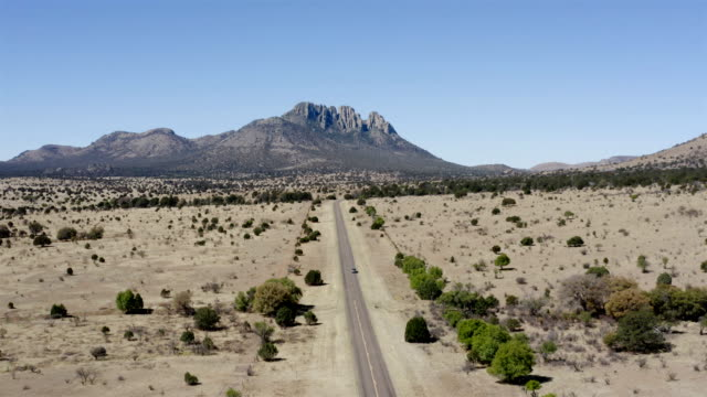 Marfa and Fort Davis Landscape Aerial