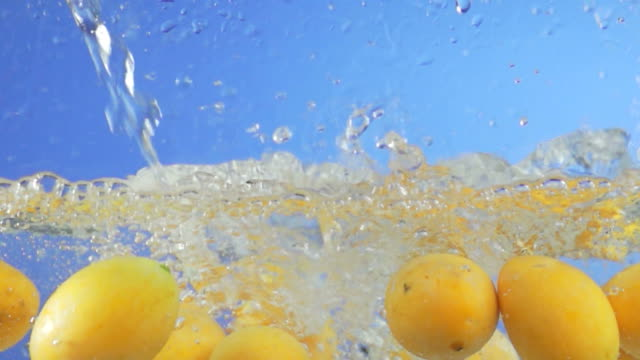 Marian Plum Splashing Into Water (Super Slow Motion) video