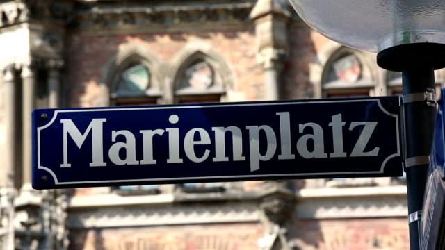 Marienplatz in München – Video
