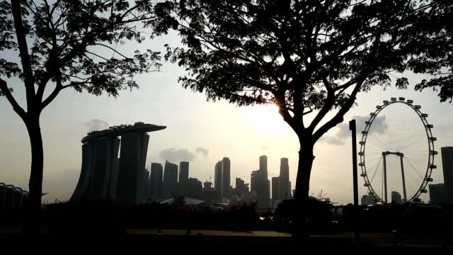 Marina Bay Singapore city