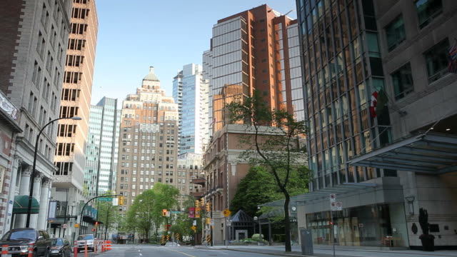 Marine Building Vancouver Downtown video