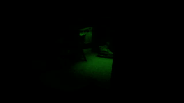 Marine In Night Vision video