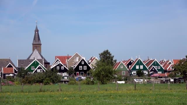 Marken a historic village, Netherland, 4K video