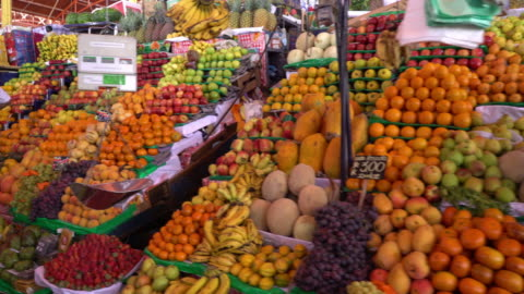 Market in Arequipa, Peru Market in Arequipa, Peru cultures stock videos & royalty-free footage