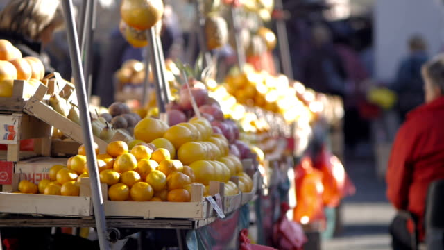 Market place. Belgrade, Serbia, Europe video