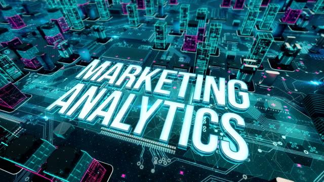 marketing analytics with digital technology concept - digital marketing stock videos & royalty-free footage