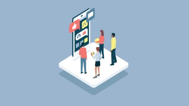vidéos et rushes de analyse marketing et communication - content