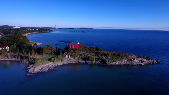 Marquette Harbor Lighthouse video