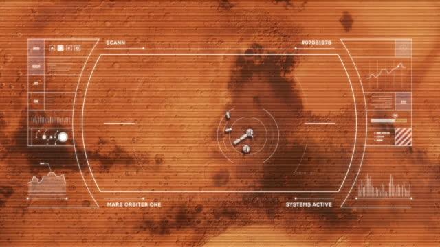 fördärvar base från orbit - mars bildbanksvideor och videomaterial från bakom kulisserna
