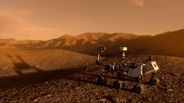 nasa mars discovery rover. - astronomia video stock e b–roll