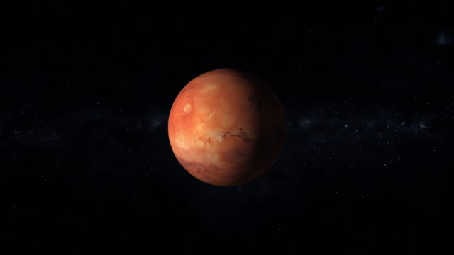 Mars is the fourth planet from the Sun