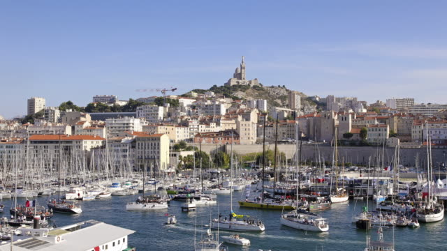 stockvideo's en b-roll-footage met haven van marseille - marseille