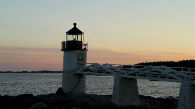 Marshall Point Lighthouse video