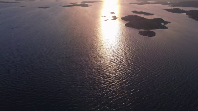 marstrand i solnedgången - bohuslän nature bildbanksvideor och videomaterial från bakom kulisserna