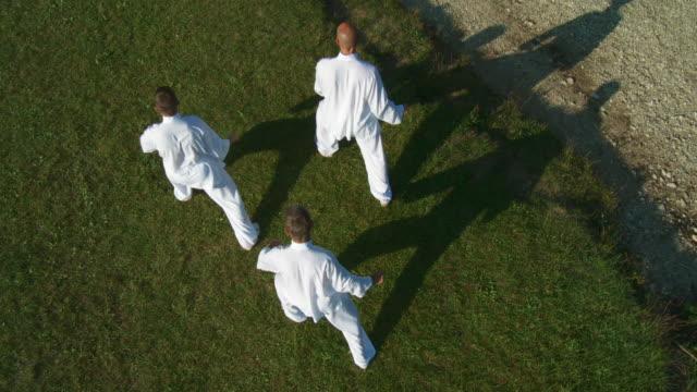 HD CRANE: Martial Arts Outdoors video