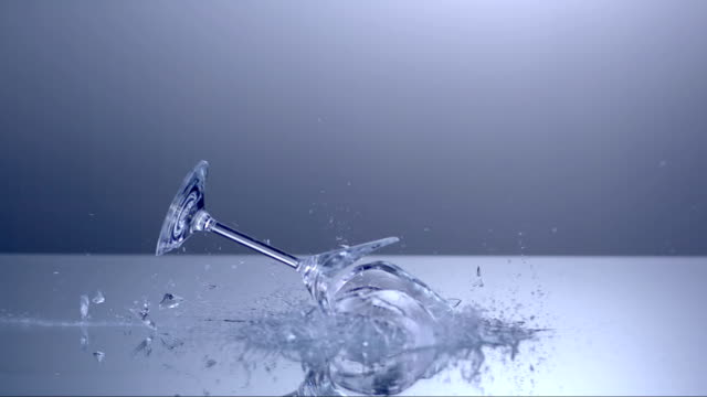 Martini Glass Shattering (Super Slow Motion) video