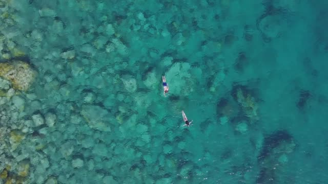 Martinique island and beach aerial view in Caribbean islands