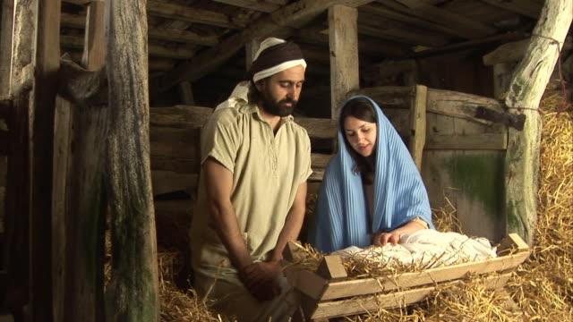 Mary & Joseph Christmas Nativity video