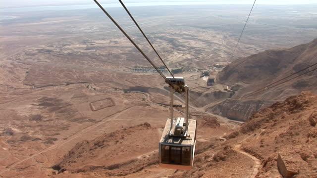 Masada cableway video