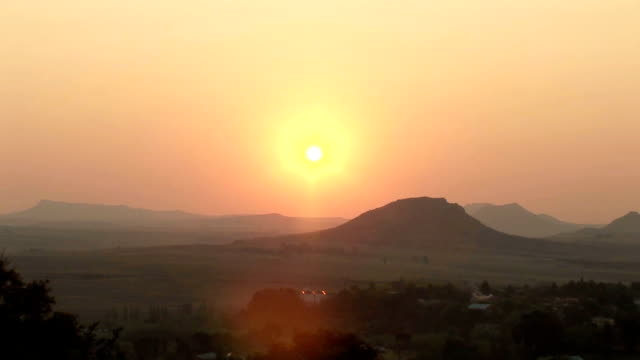 Maseru Sunset video
