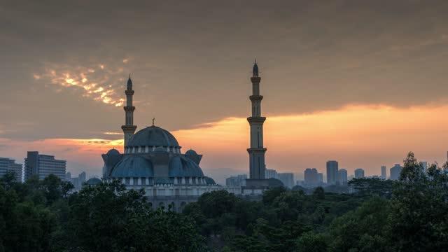 Masjid Wilayah Persekutuan in Kuala Lumpur