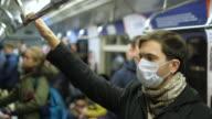 istock Masked People Metro. Coronavirus. Corona Virus. Covid-19. 2019-ncov. SARS-CoV-2. 1218070344