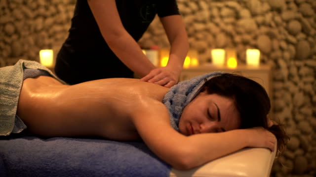 Massage at Spa video