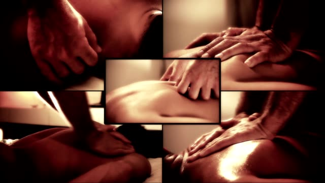 stockvideo's en b-roll-footage met massage relax - masseren