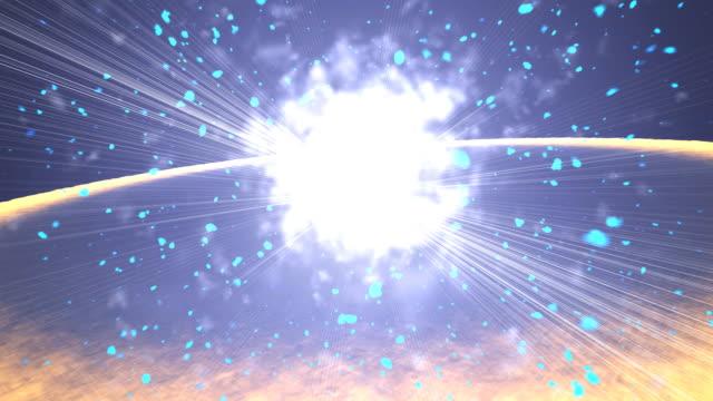 Massive Explosion video