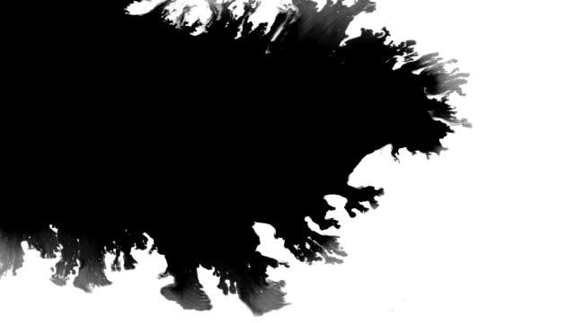 Massive ink leak spreads over screen