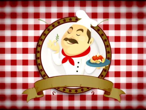 master chef  - pistillo video stock e b–roll
