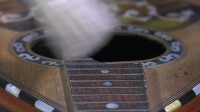 Master luthier guitars at work video